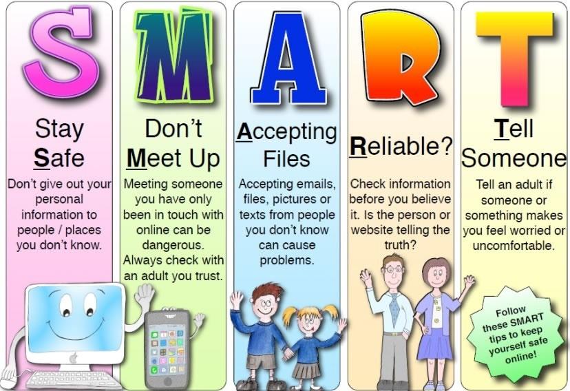 Safe tips staying online Keeping Children